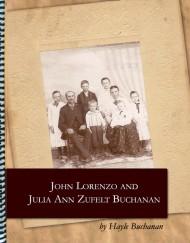John Lorenzo & Julia Ann Zufelt Buchanan, coil bound