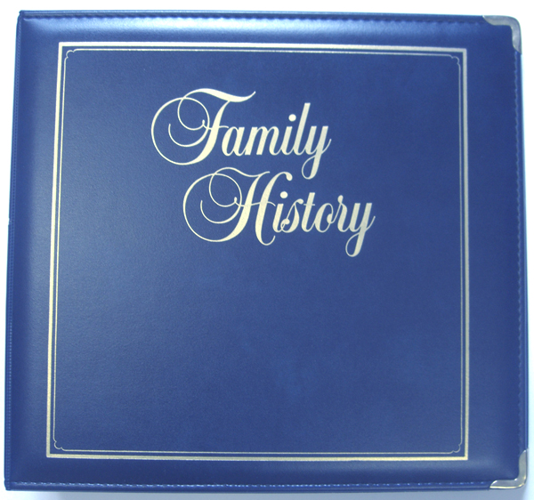 Executive Family History Binder Stevenson Genealogy