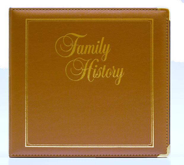 Executive Family History Binder