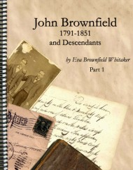 John Brownfield, 1791-1851 and Descendants, coil bound