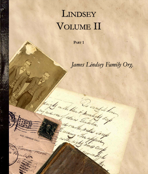 Lindsey Vol  2 by James Lindsey Family