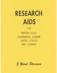 Research Aids, British Isles, etc.
