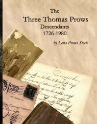 Three Thomas Prows Descendants, coil bound
