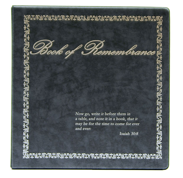 Remembrance Binders