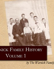 Warnick Family History, coil bound