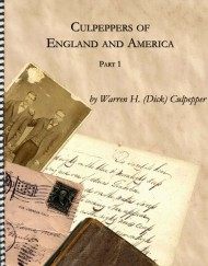 Culpepper's of England and America, coil bound