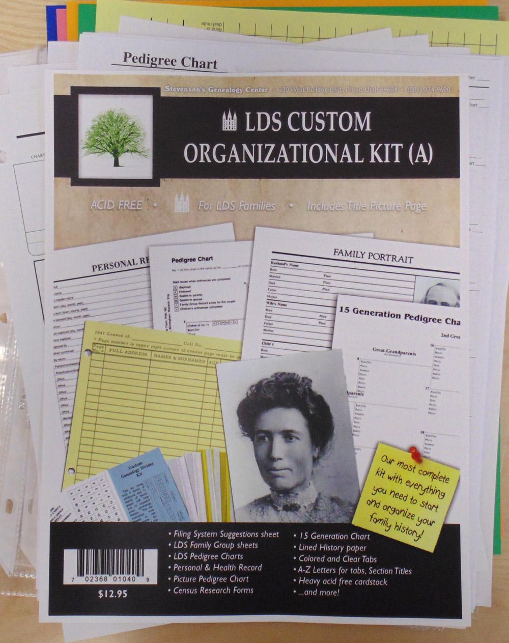 Family History Kit A, LDS