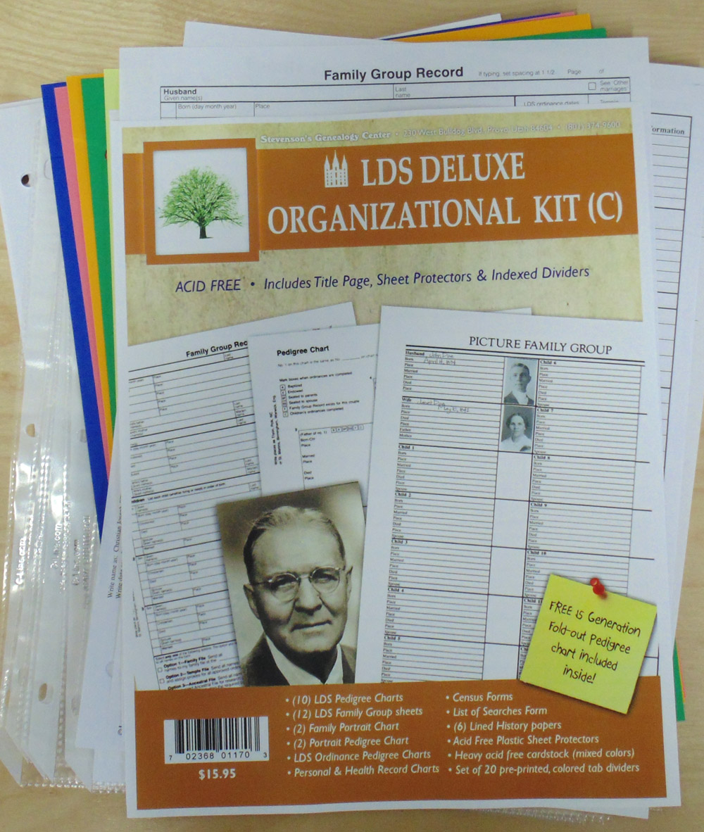 You Re Viewing Family History Kit C Lds 15 95