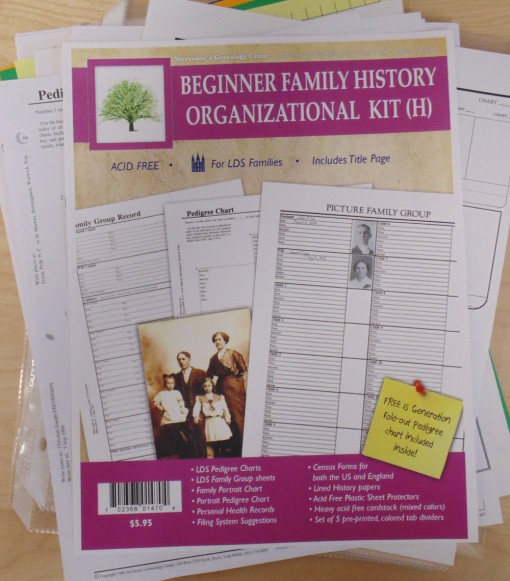 Family History Beginner Kit H, LDS