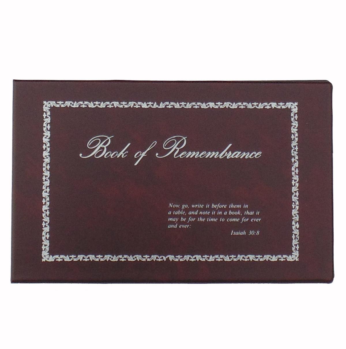 Book Of Remembrance Vinyl Binder Legal Size Stevenson