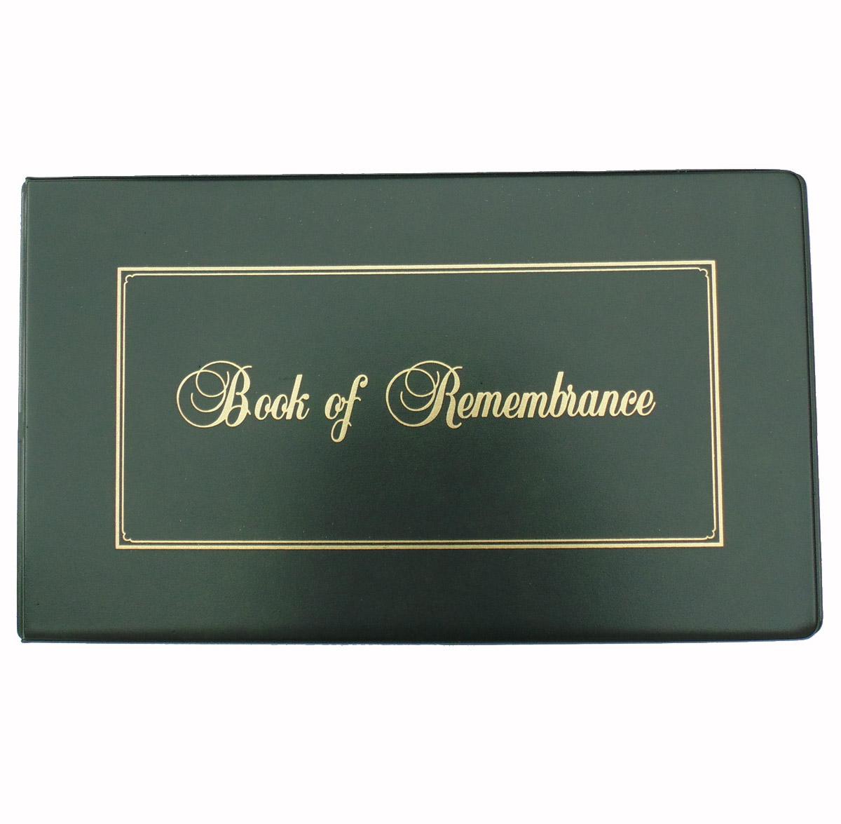 Legal D Ring Book Of Remembrance Binder Stevenson